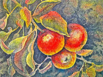 Harvest Time Poster by Carolyn Rosenberger