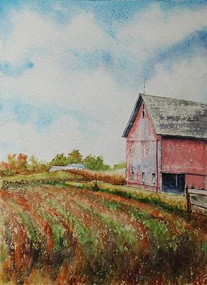 Harvest Time Poster by Mike Yazel