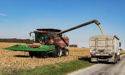 Harvest Time. Poster