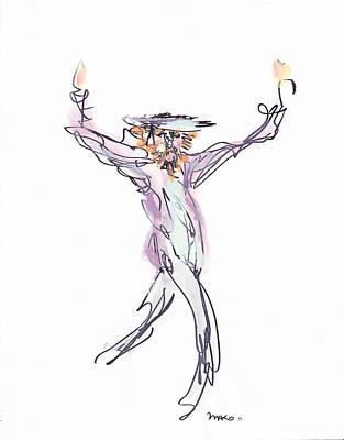 Hasidic Dancer Poster