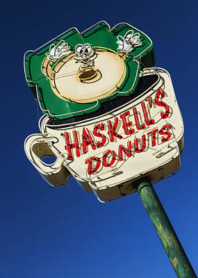 Haskell's Donuts #1 Poster by Stephen Stookey