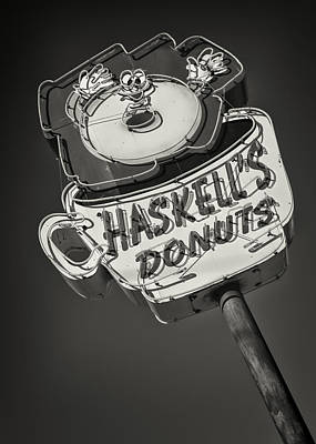 Haskell's Donuts #2 Poster by Stephen Stookey