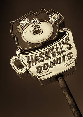 Haskell's Donuts #3 Poster by Stephen Stookey