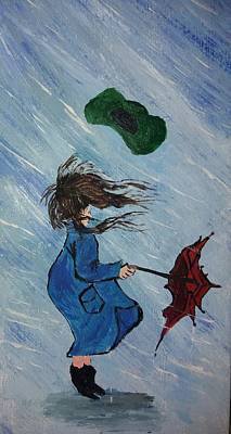 Hate The Wind Love The Rain Poster