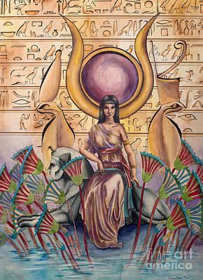 Hathor Poster by Georges Loewenguth
