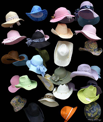 Poster featuring the photograph Hats Off by Shelly Stallings