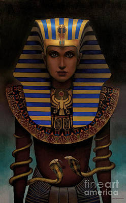 Hatshepsut Poster by Jane Whiting Chrzanoska