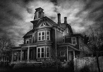 Haunted - Flemington Nj - Spooky Town Poster by Mike Savad