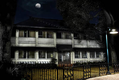 Haunted Hotel Poster by Mark Andrew Thomas