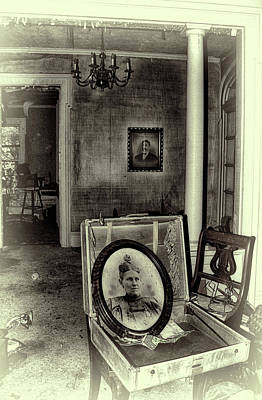 Haunted House Memories Poster by Tammy Sullivan
