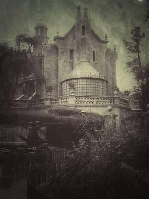 Haunted Mansion Poster by Kenneth Krolikowski