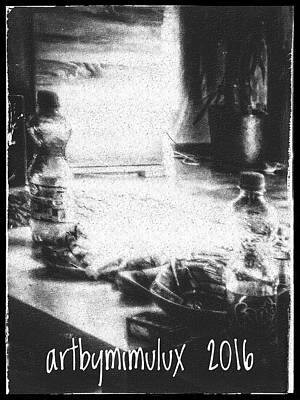 Poster featuring the photograph Haunted Room I by Mimulux patricia no No