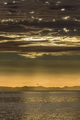 Hauraki Gulf At Sunrise Poster