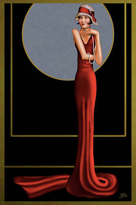 Hauteur Elegance Poster by Troy Brown