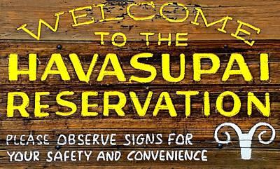 Havasupai Reservation Poster