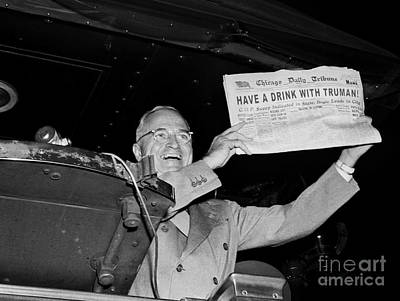 Have A Drink With Truman Poster by Jon Neidert