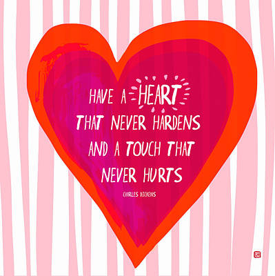 Have A Heart Poster by Lisa Weedn