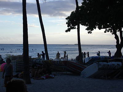 Hawaiian Afternoon Poster