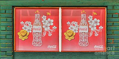 Hawaiian Coca-cola Sign Poster