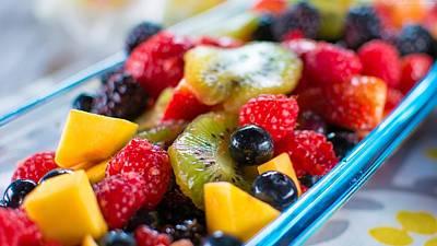 Hawaiian Fresh Fruit Salad Poster