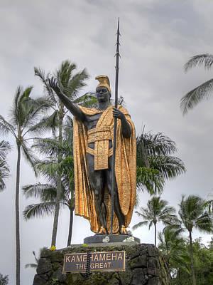 Hawaiian King Kamehameha Poster