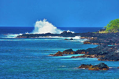 Hawaiian Seascape Poster
