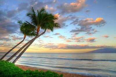 Hawaiian Sunrise Poster by Kelly Wade