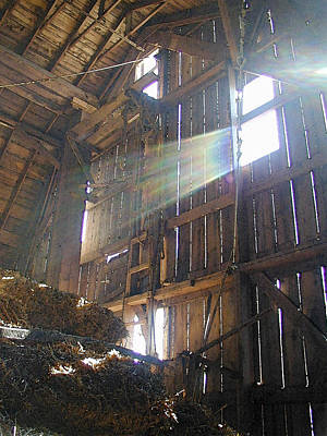 Hayloft Cathedral Poster by Laurie With