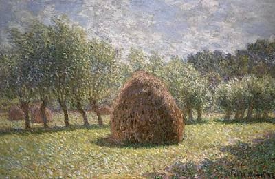 Haystacks At Giverny Poster