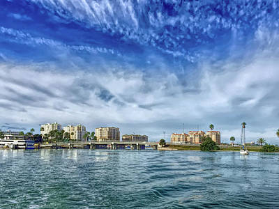 Hdr Clearwater Florida Poster by Aimee L Maher Photography and Art Visit ALMGallerydotcom