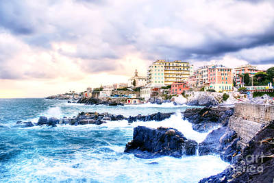 Hdr Seascape Poster