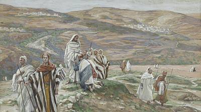 He Sent Them Out Two By Two Poster by Tissot