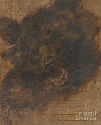 Head Of A Bear Poster