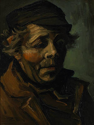Head Of A Peasant  Poster by Vincent van Gogh