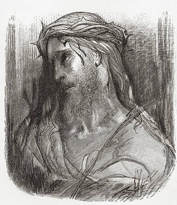 Head Of Christ, After The Original Poster