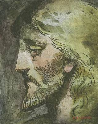 Head Of Christ Poster by Robert McIntosh