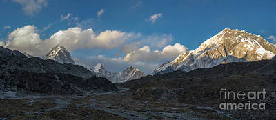 Poster featuring the photograph Heading To Everest Base Camp by Mike Reid