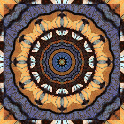 Healing Mandala 16 Poster by Bell And Todd