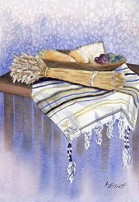 Hear O Israel Poster by Marsha Elliott