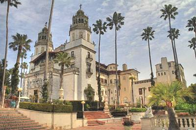 Hearst Castle Poster by Donna Kennedy