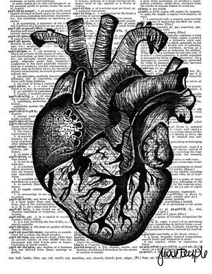 Heart Poster by Jesse Temple