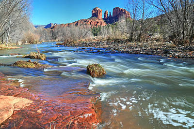 Heart Of Sedona 2 Poster by Donna Kennedy