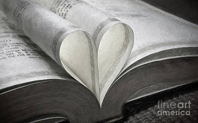 Heart Of The Book  Poster