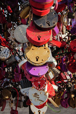 Hearts Locked In Love Poster