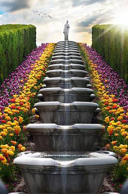 Heavenly Garden Poster
