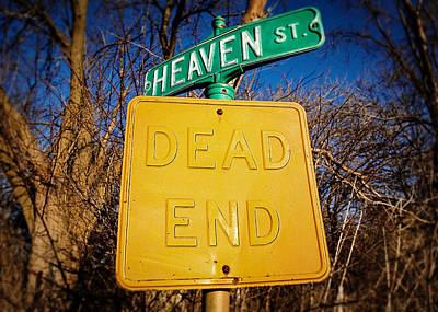 Heavenly Irony Poster