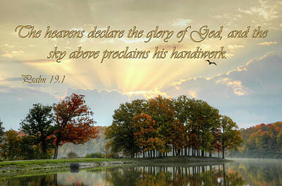 Heavenly Morning Poster by Ann Bridges