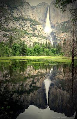 Heavenly Reflections At Yosemite Poster