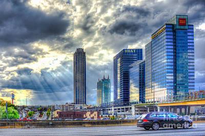 Heavens Door Midtown Atlanta Georgia Poster by Reid Callaway
