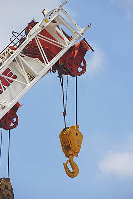 Heavy Construction Equipment Poster by Fotog1
